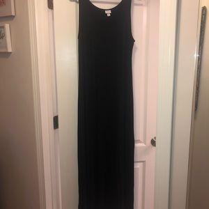 Black maxi dress never worn